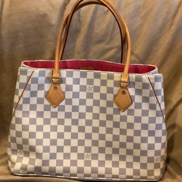 51f869fc7f27 Louis Vuitton Handbags - Louis Vuitton Calvi Damier Azur